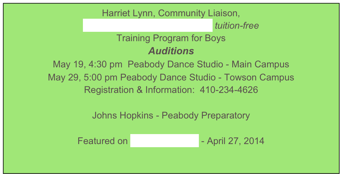 Harriet Lynn, Community Liaison,